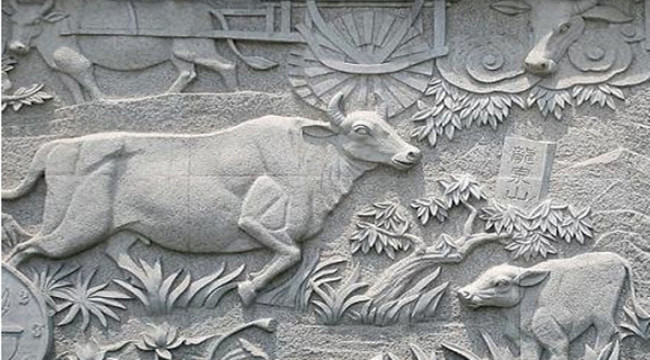 大理石浮雕